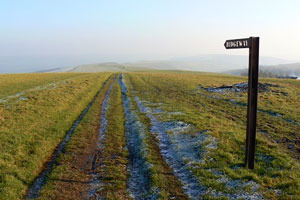 Signpost on the Ridgeway